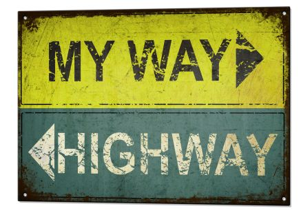 my way or high way